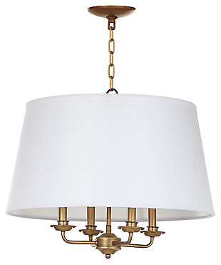 "Adjustable Length 22"" Pendant Light, , large"