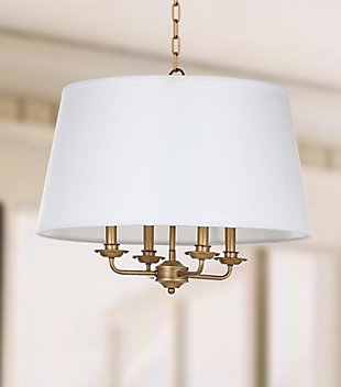 "Adjustable Length 22"" Pendant Light, , rollover"