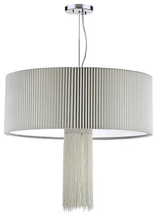 "Adjustable Length 18.5"" Pendant Light, , large"