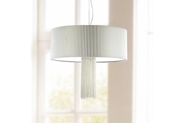 "Adjustable Length 18.5"" Pendant Light, , large"