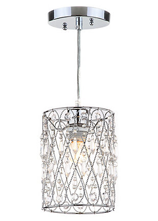 "Adjustable Length 23.75"" Pendant Light, , rollover"
