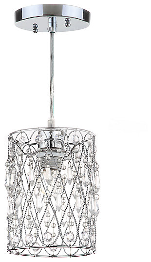 "Adjustable Length 23.75"" Pendant Light, , large"