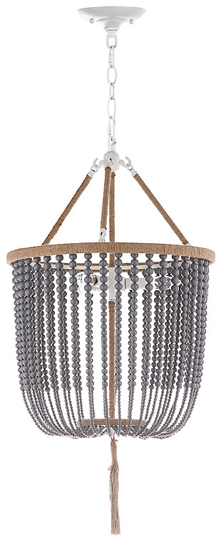 "Beaded Beaded 18"" Chandelier, , large"