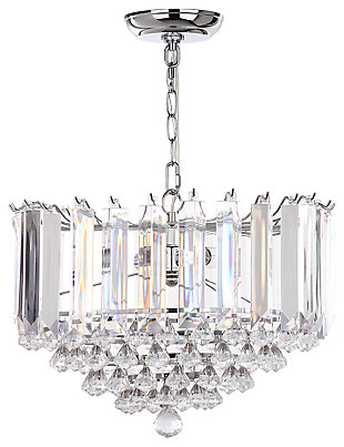 "Adjustable Length 16.5"" Pendant Light, , large"