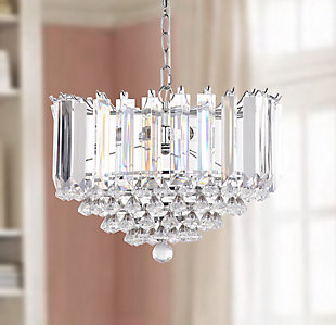 "Adjustable Length 16.5"" Pendant Light, , rollover"
