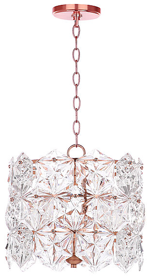 "Adjustable Length 14"" Pendant Light, , large"