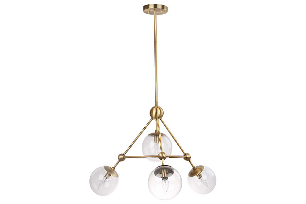 "Pyramid Design 32"" Pendant Light, , large"