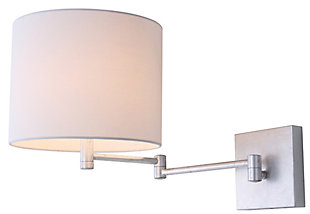 "Chrome Finish Modern 12"" Wall Sconce (Set of 2), , large"