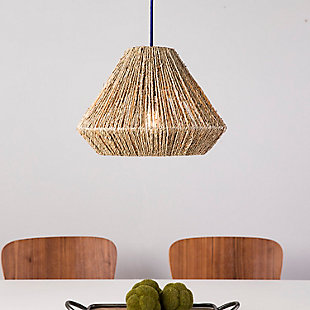 Natural Holly & Martin Lamont Seagrass Pendant Shade, , rollover