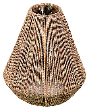 Natural Holly & Martin Lennart Seagrass Pendant Shade, , large