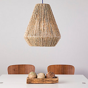 Natural Holly & Martin Lennart Seagrass Pendant Shade, , rollover