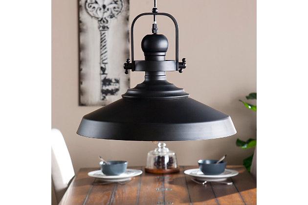 Industrial Nonna Bell Pendant Light, , large