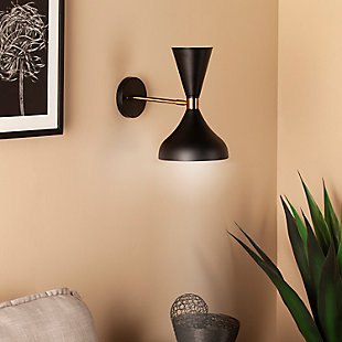 Transitional Maria Elena Wall Sconce Lamp, , rollover