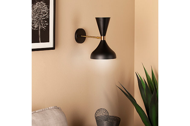 Transitional Maria Elena Wall Sconce Lamp, , large