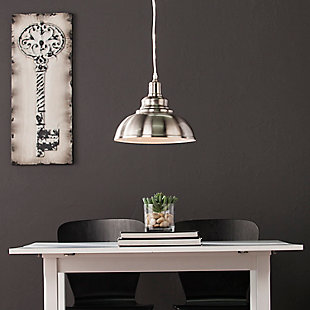 Transitional Bianchi Bell Pendant Light, , rollover
