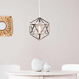 Transitional Barion Geometric Cage Pendant Light, , rollover