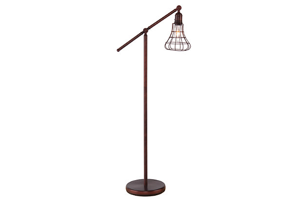 Industrial Flinn Floor Lamp, , large