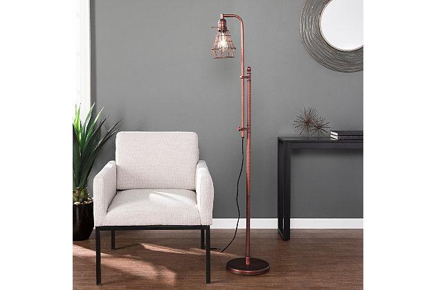 Industrial Blake Floor Lamp, , large