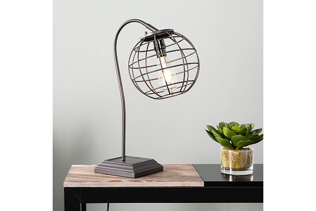 Industrial Twella Table Lamp, , large