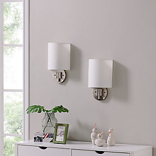 Transitional Winchell Wall Sconce (Set of 2), , rollover