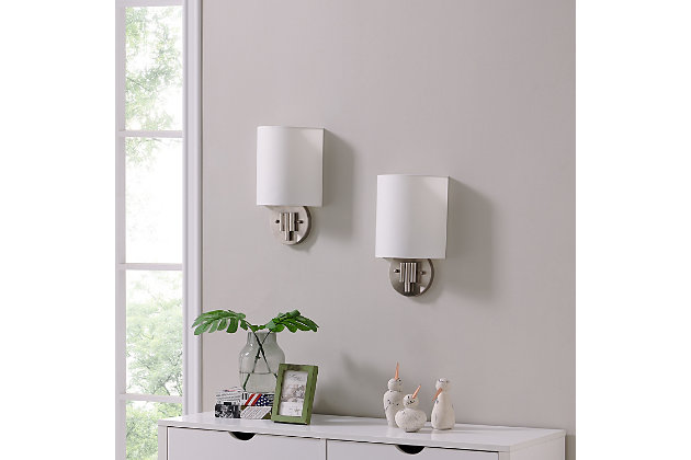 Transitional Winchell Wall Sconce (Set of 2), , large