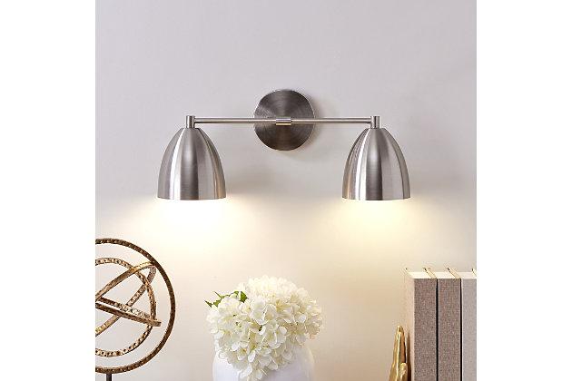 Transitional Derra 2-Light Vanity Sconce, , large