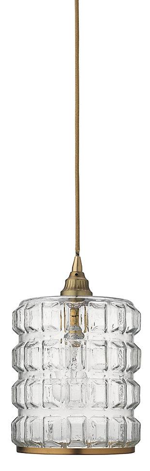 Antique Brass Pendant, , rollover