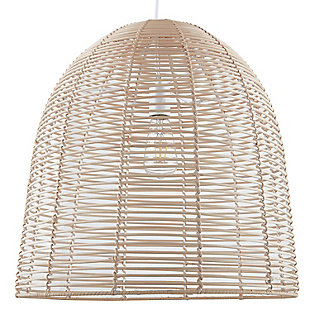 Natural Clovis Pendant Light, , large