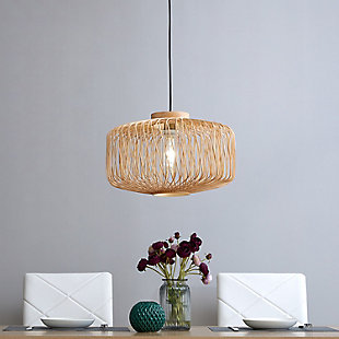 Natural Gennta Pendant Light, , rollover