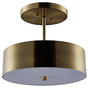 Modern Harvey Semi-Flush Mount Pendant Light, , large