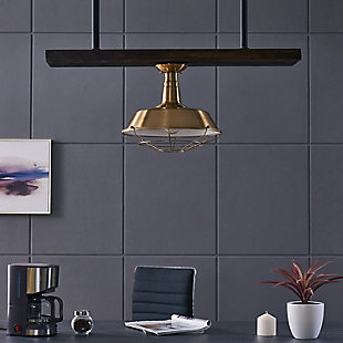 Modern Emmane Flush Mount Pendant Light, , rollover