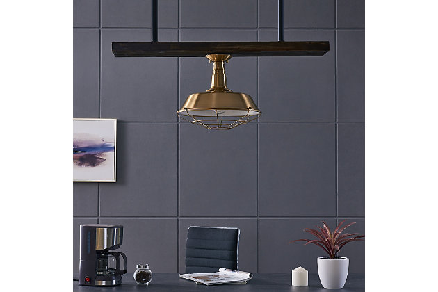 Modern Emmane Flush Mount Pendant Light, , large