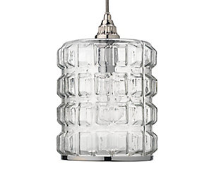 Silver Pendant Light, , large