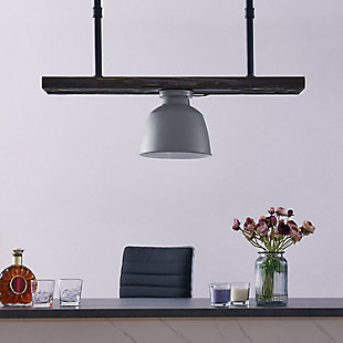 Transitional Passia Flush Mount Pendant Light, , rollover