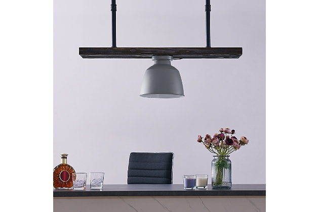 Transitional Passia Flush Mount Pendant Light, , large