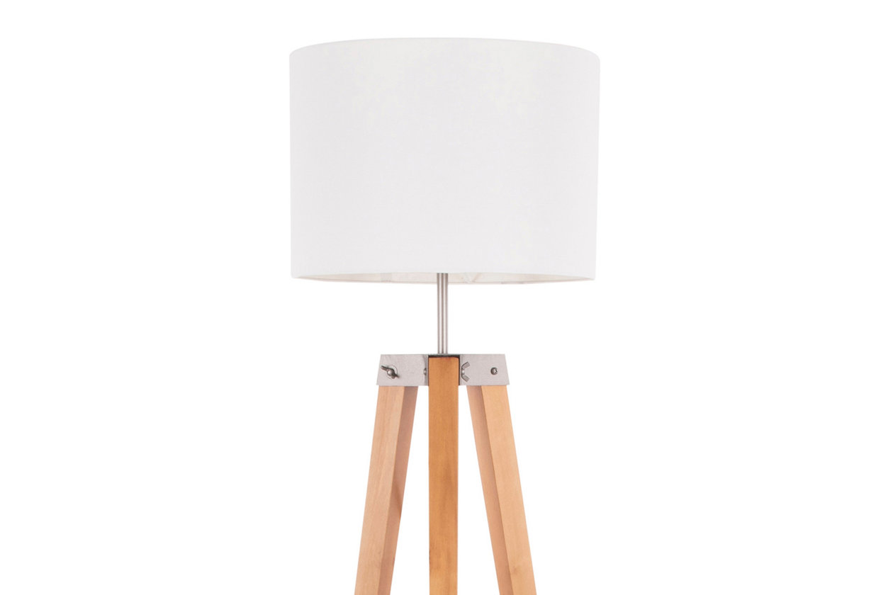 Mid Century Modern Floor Lamp With Shelf Ashley Furniture Homestore