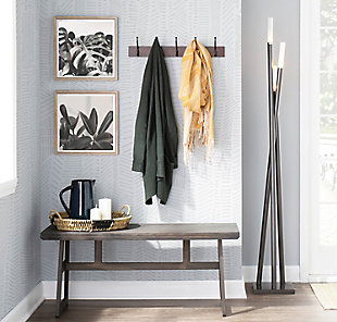 Modern Metal Floor Lamp, , rollover