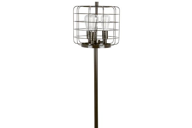 Industrial Floor Lamp, , large