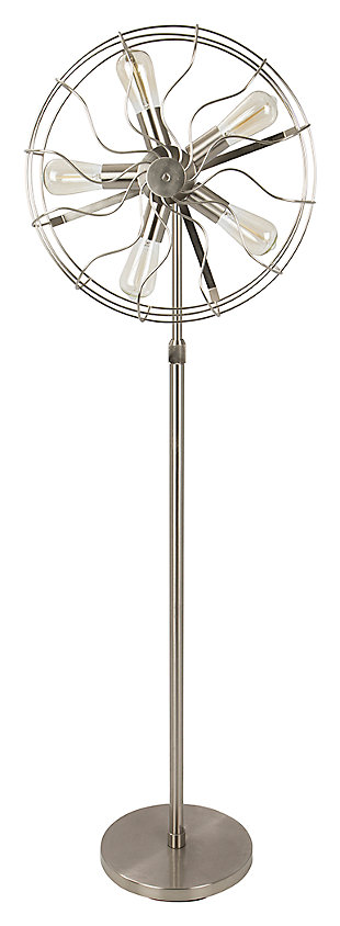 Industrial Floor Lamp, , large