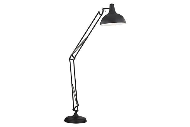 Industrial Ludwig Adjustable Floor Lamp, , large