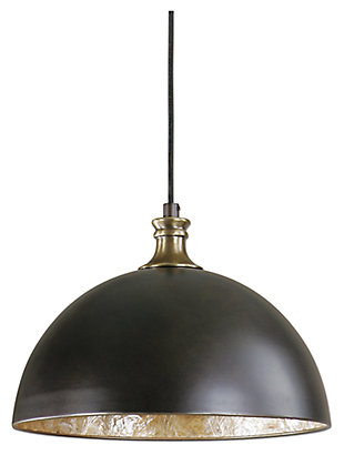 Metal Dome Pendant, , large
