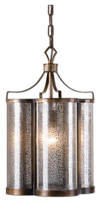 Arched Mercury Glass Pendant, , large