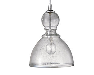 St. Charles Clear Pendant- Large, , large