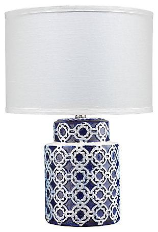 Quatrefoil Marina Table Lamp, , large