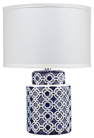 Quatrefoil Marina Table Lamp, , large