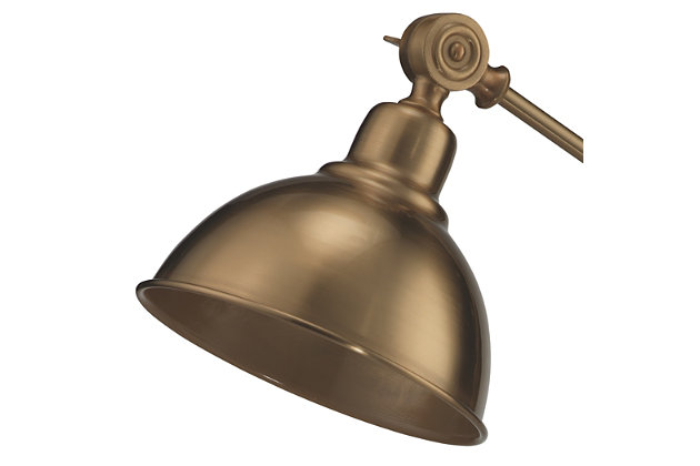 Brass Wallace Table Lamp, , large