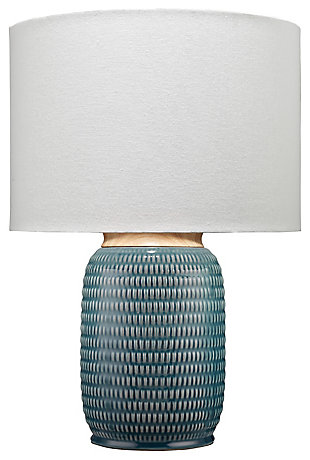 Ceramic Glazed Graham Table Lamp, , large