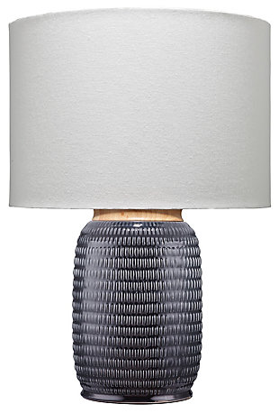 Ceramic Glazed Graham Table Lamp, , rollover