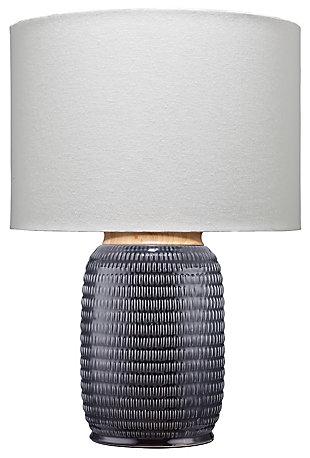 Ceramic Glazed Graham Table Lamp, , rollover