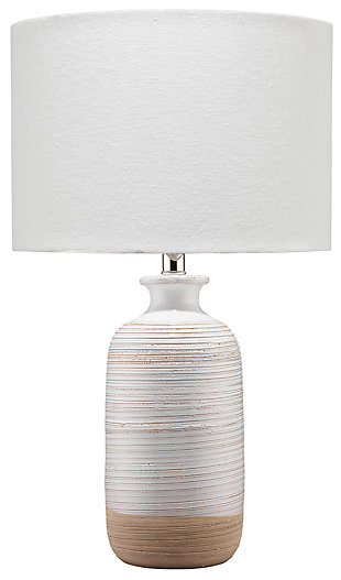 Textured Ashwell Table Lamp, , large